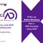 SPN Scanning using ADSI (Part 3)