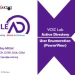 Active Directory User Enumeration using PowerView